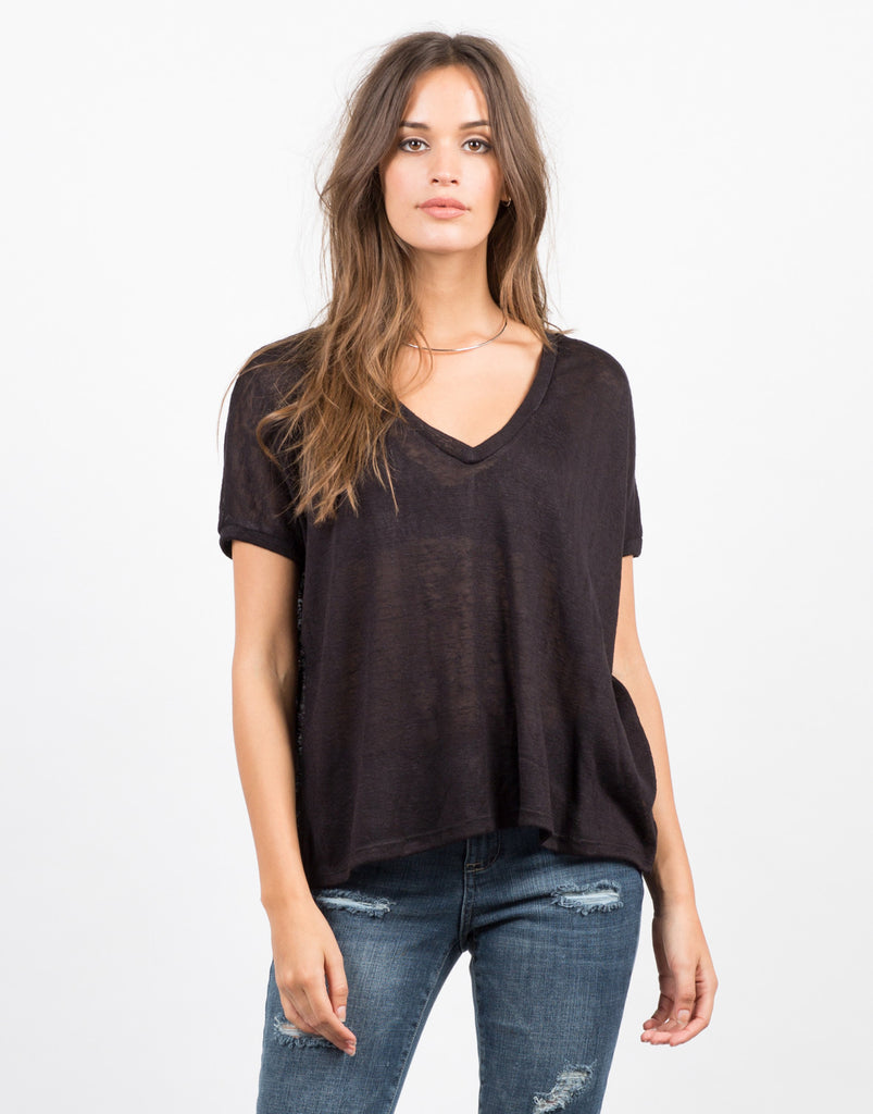 Lightweight Boxy Tee - 2020AVE
