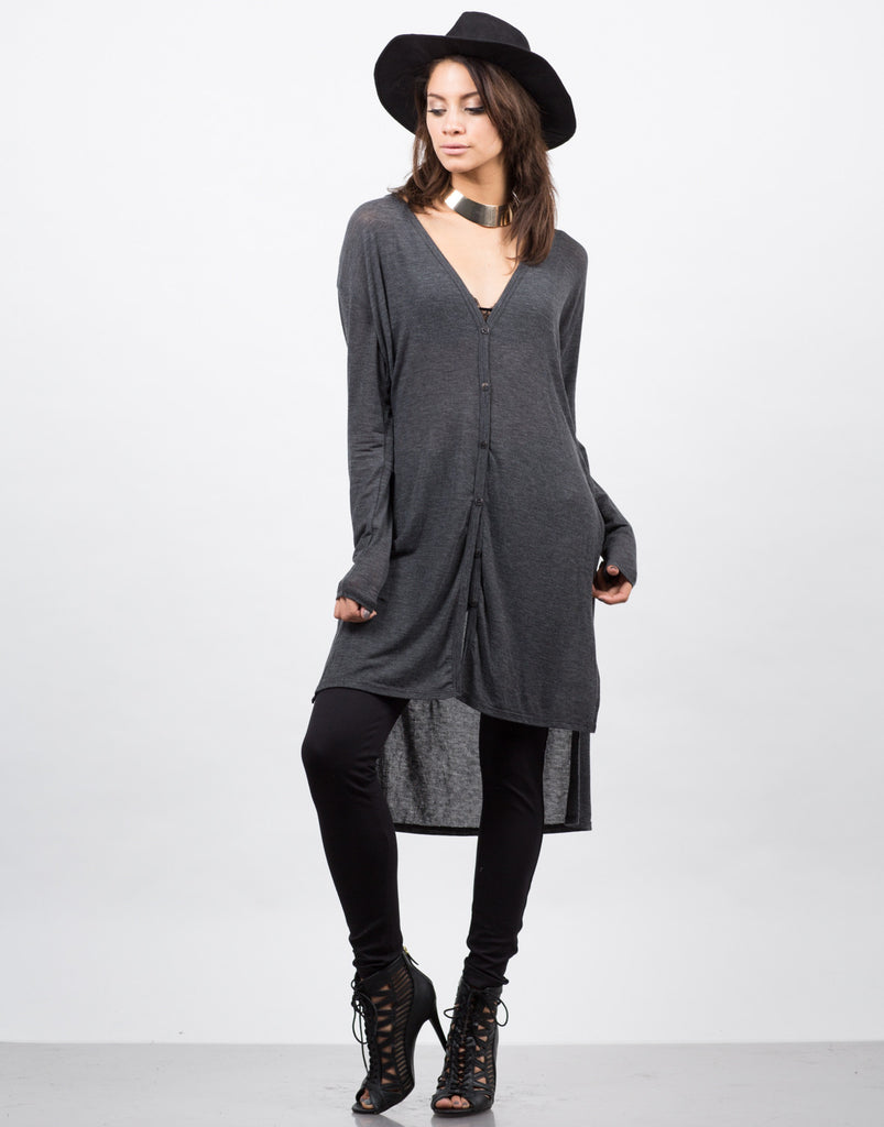 Lightweight Button Down Cardigan - 2020AVE