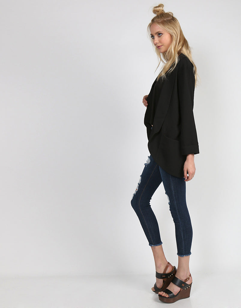Lightweight Cardigan Blazer - 2020AVE