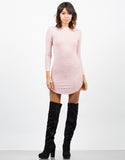 Front View of Lightweight Long Sleeve Dress