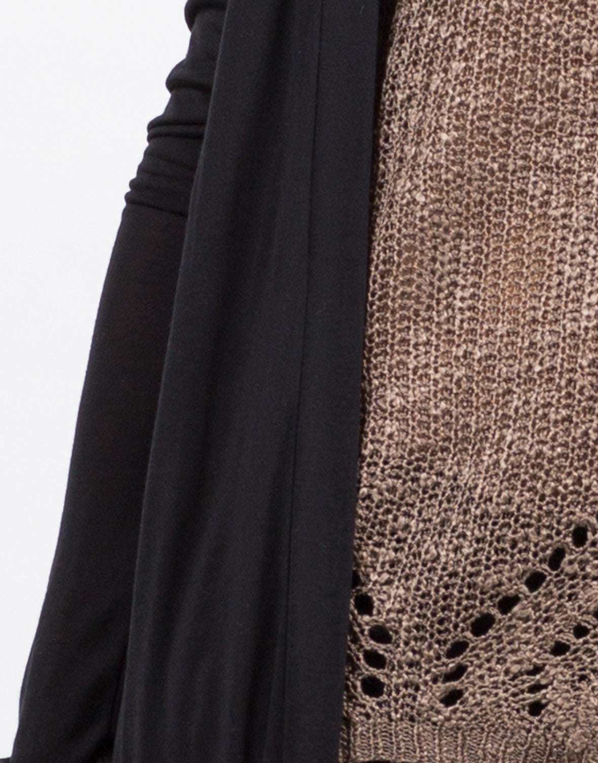 Detail of Lightweight Maxi Cardigan