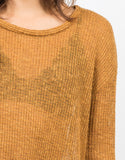 Detail of Lightweight Oversized Sweater