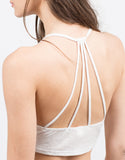 Detail of Lightweight Strappy Crop Top