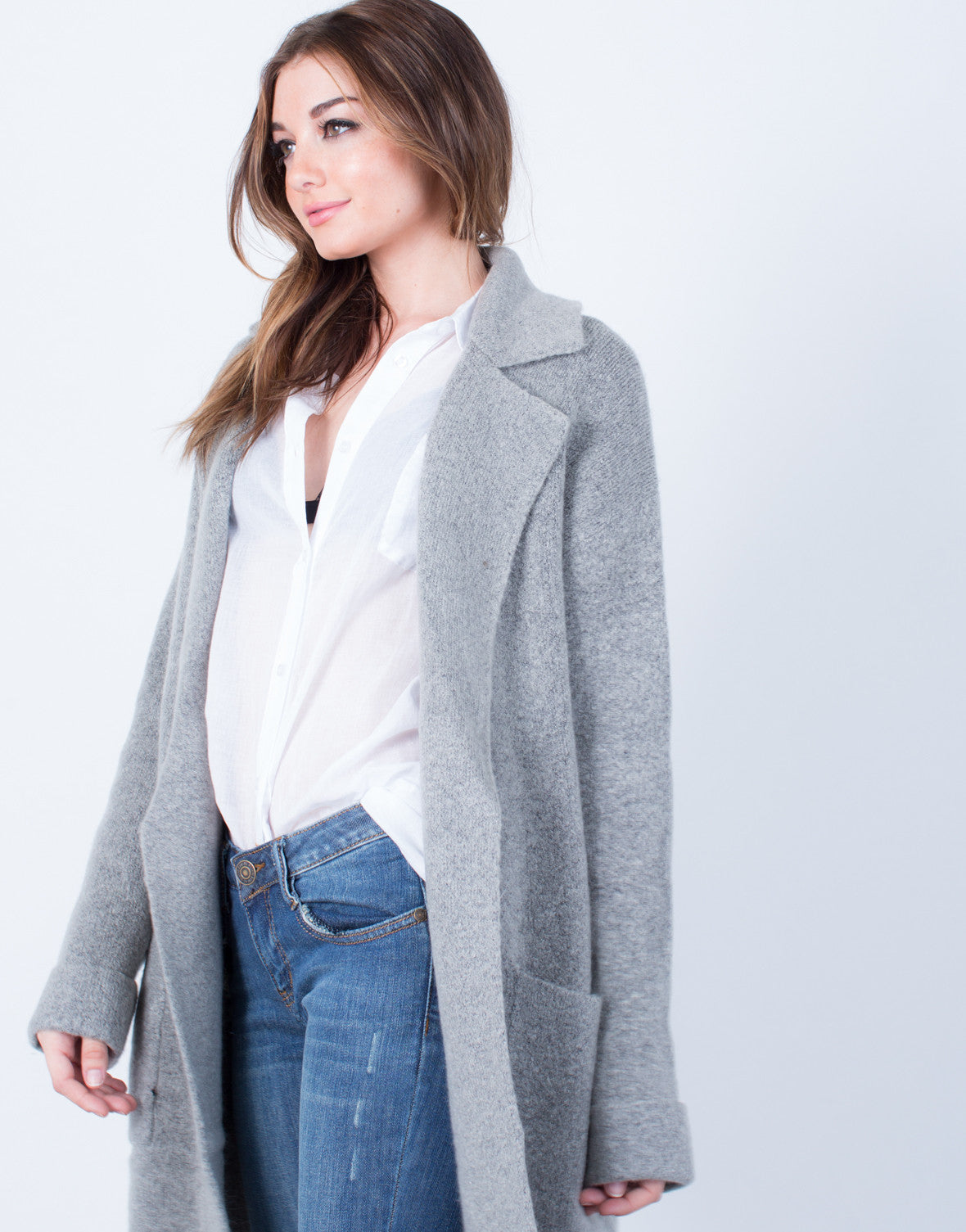 Detail of Limitless Wool Coat