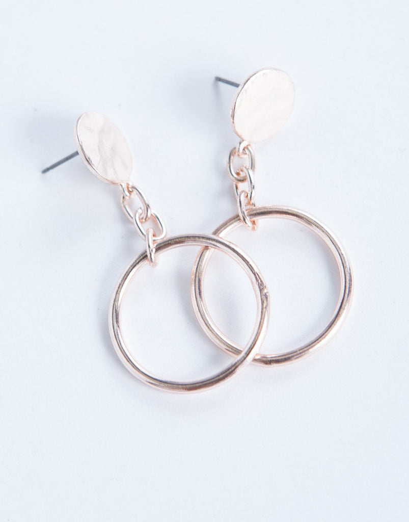 Linked Ring Earrings - 2020AVE