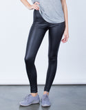 Front View of Liquid Leggings
