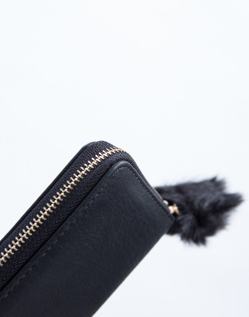 Little Black Leather Wallet