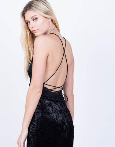Little Black Velvet Dress - 2020AVE