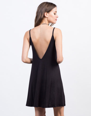 Back View of Little Tank Dress