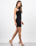 Side View of Little Black Bodycon Dress