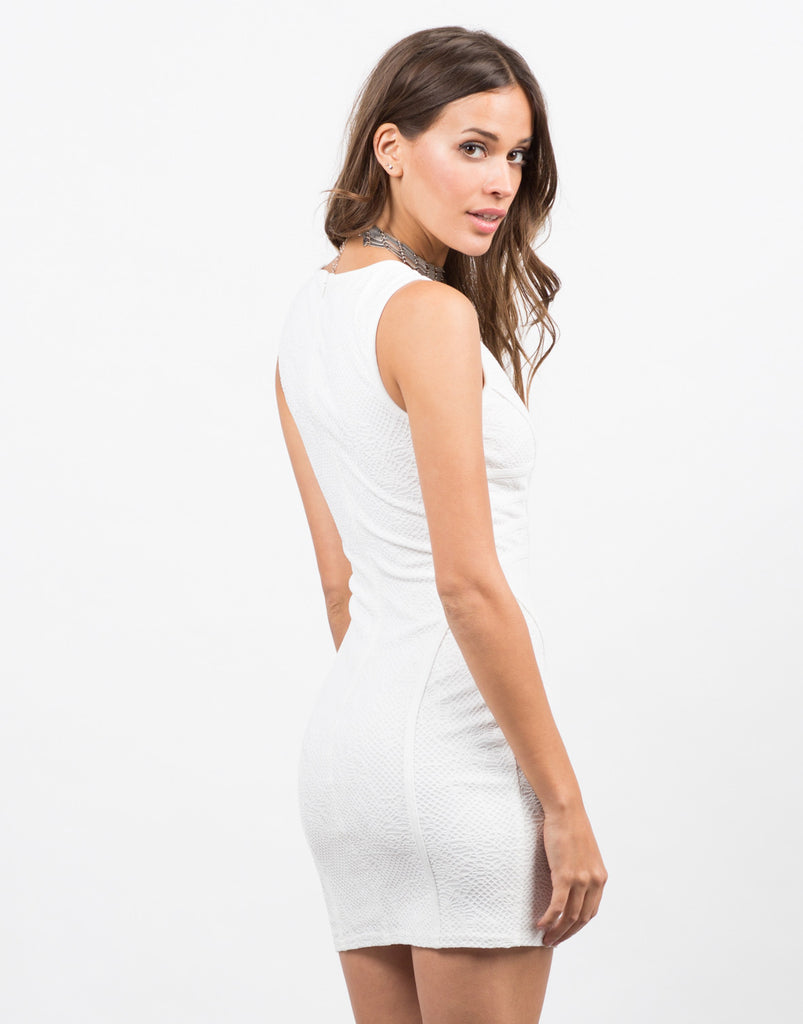 Little Lacey White Dress - 2020AVE