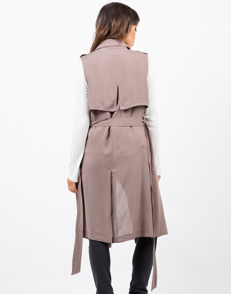 Long Drapey Vest - 2020AVE