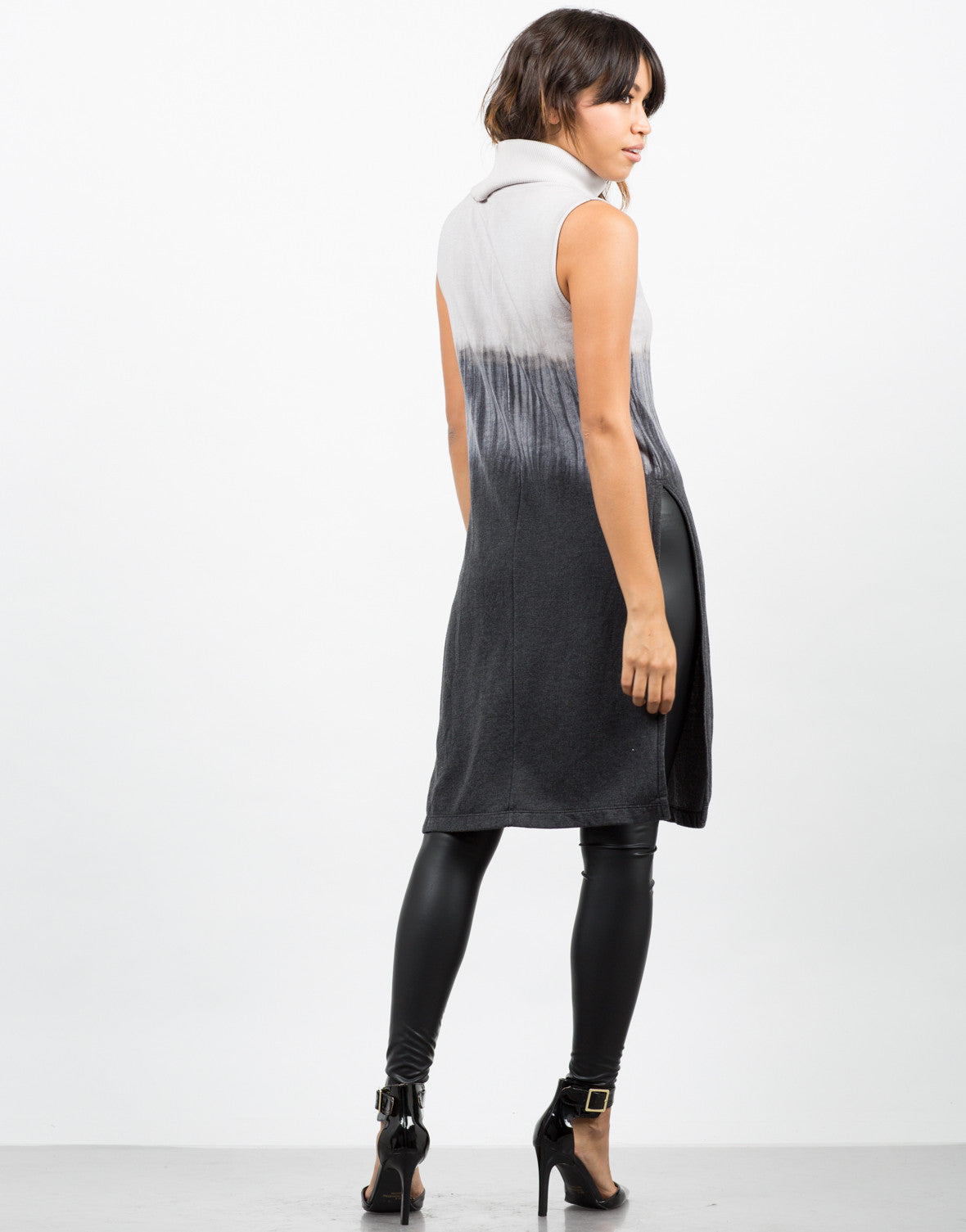 Long Ombre Tunic Dress - 2020AVE