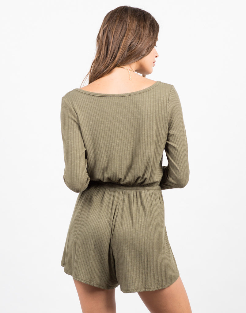 Long Sleeve Tulip Romper - 2020AVE