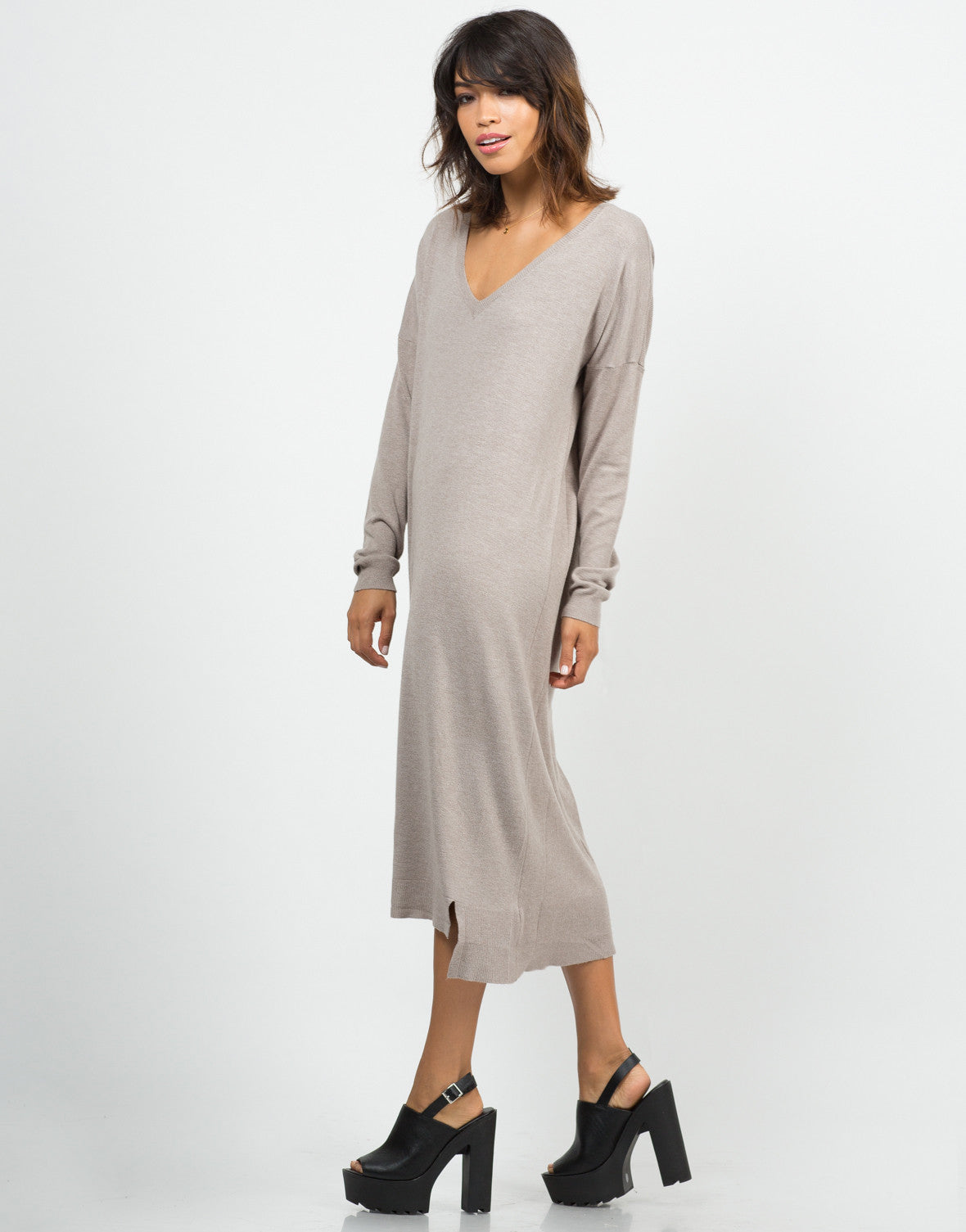 Long Sweater Dress - Maxi Dress - Womens Dresses U2013 2020AVE