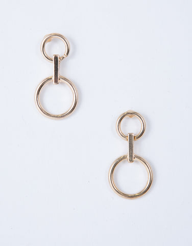 Loop Around Earrings