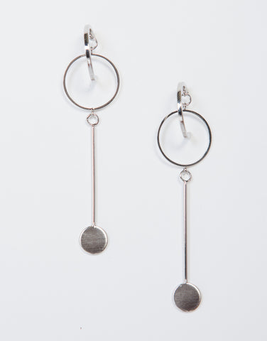 Loopy Hoop Drop Earrings - 2020AVE