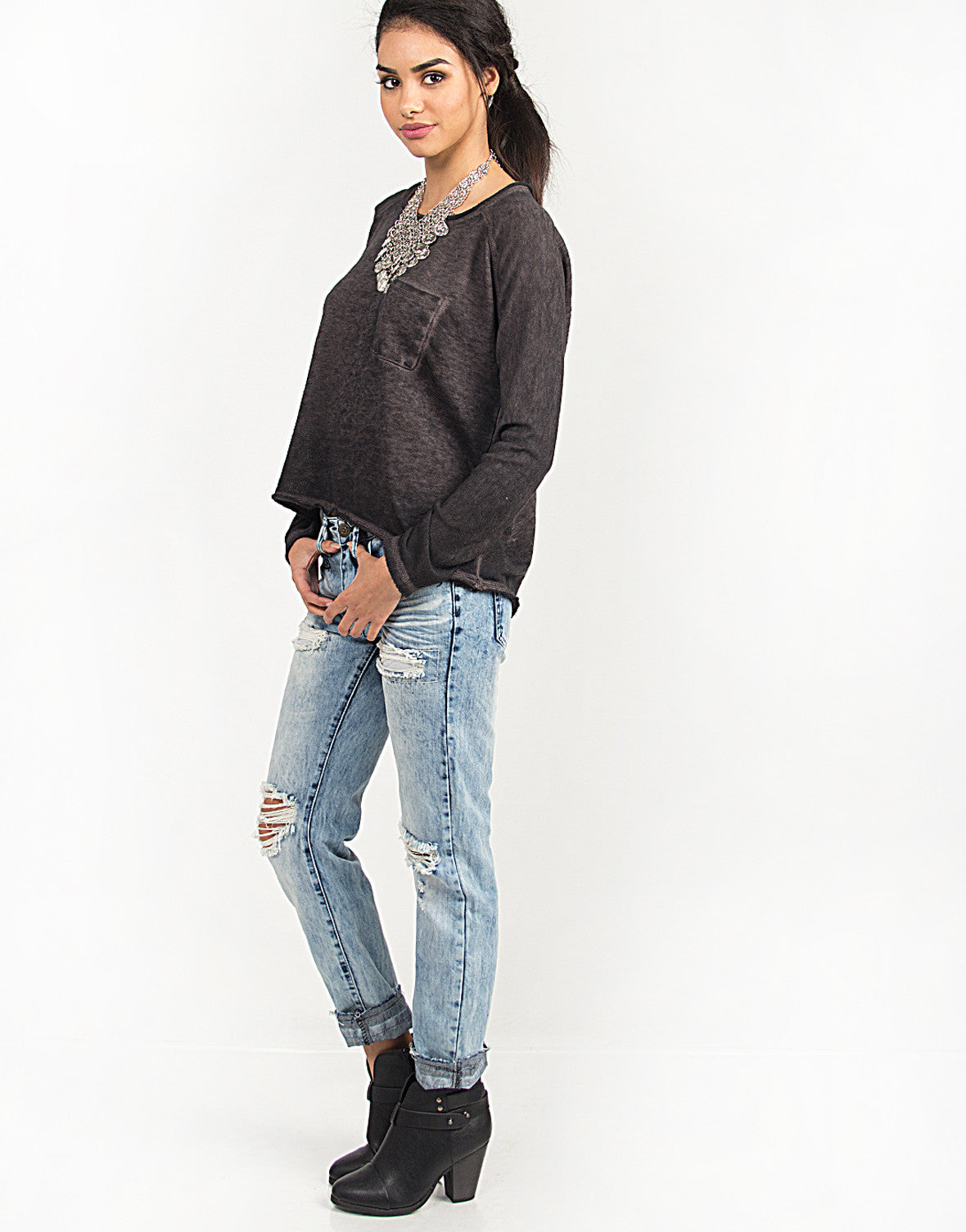Loose and Comfy Lightweight Sweater - 2020AVE