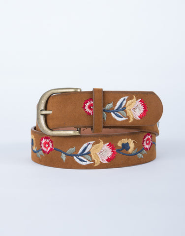 Lovely Embroidered Belt