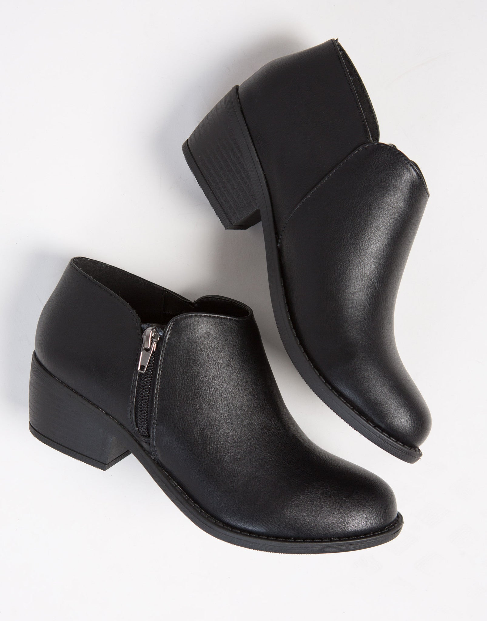 Low Cut Ankle Booties - 2020AVE