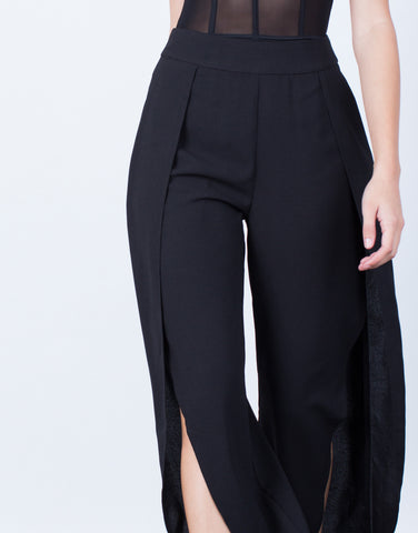 Detail of Make Your Move Wide Leg Pants