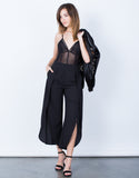 Front View of Make Your Move Wide Leg Pants