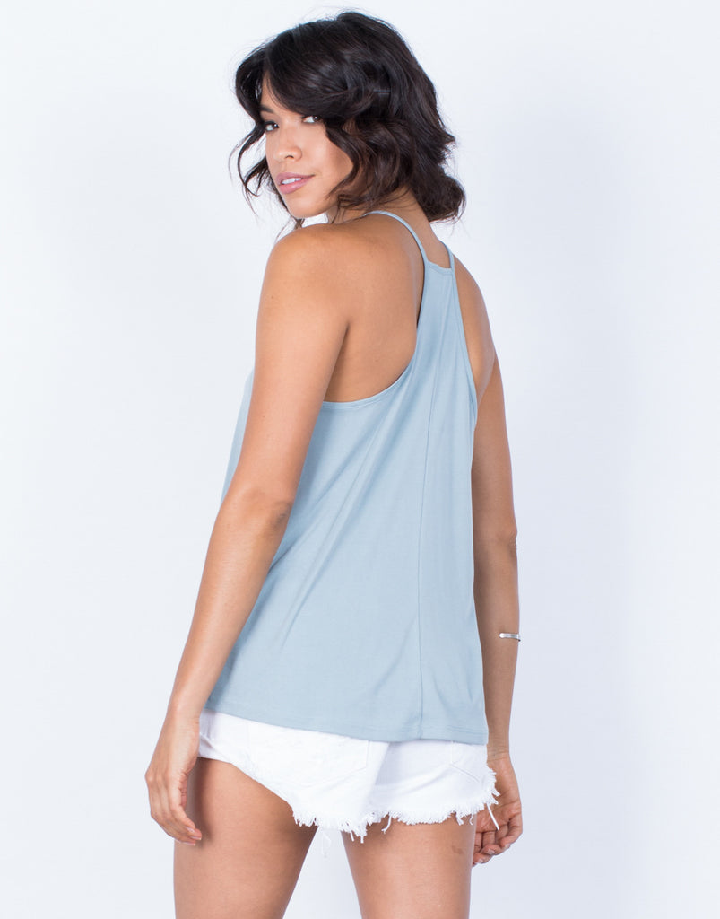 Back View of Mandy Cami Tank