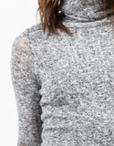 Detail of Marled Knit Sweater Dress