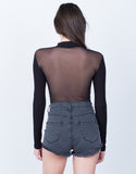 Mesh Back Bodysuit - 2020AVE