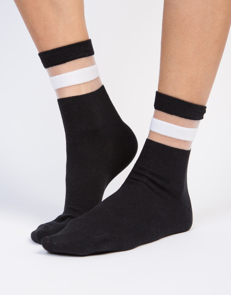 Mesh Sporty Socks - 2020AVE
