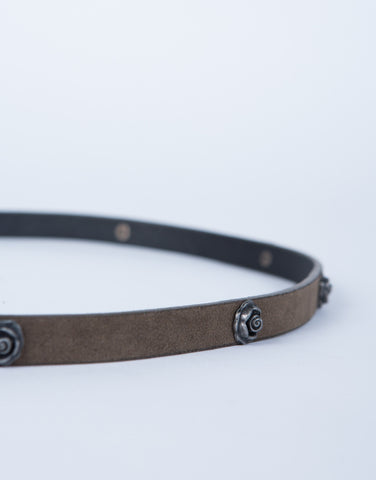 Metal Rosey Belt