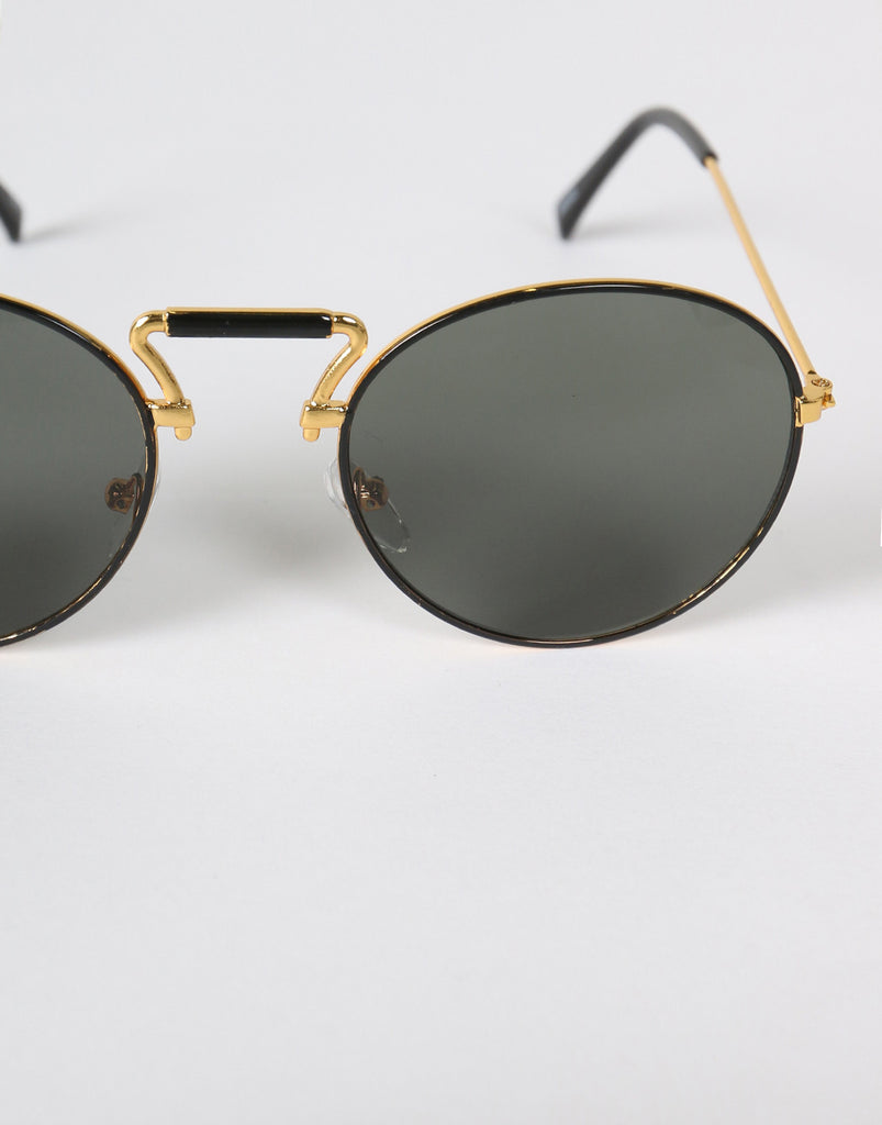 Metal Round Bar Sunglasses (+Colors) - 2020AVE