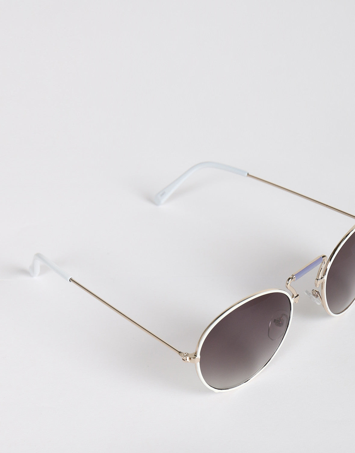 Metal Round Bar Sunglasses (+Colors)