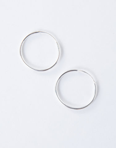 Micro Hoop Earrings