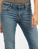 Detail of Mid Rise Skinny Jeans