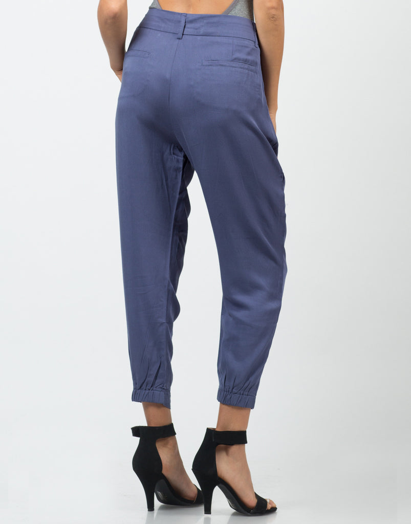 Mid Waisted Slouchy Pants - 2020AVE