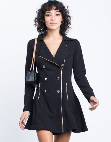 Military Tuxedo Dress - 2020AVE