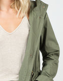 Detail of Military Anorak Jacket