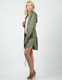 Side View of Military Anorak Jacket