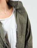 Detail of Military Hooded Jacket