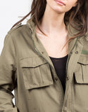 Detail of Military Utility Jacket