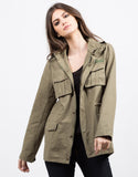Front View of Military Utility Jacket