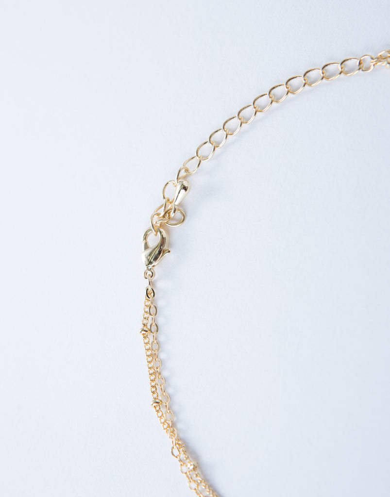 Mini Bar Chain Anklet - 2020AVE