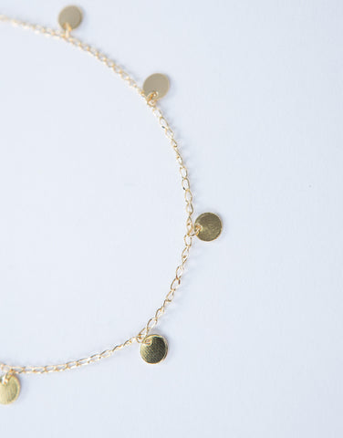 Mini Circle Anklet
