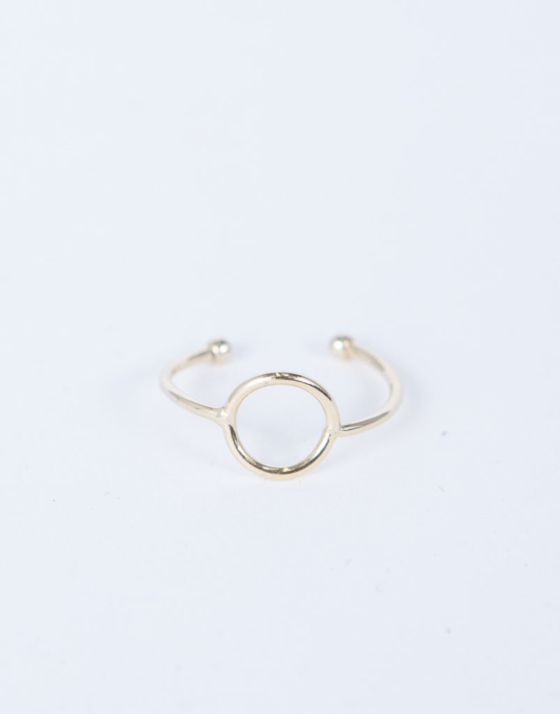 Mini Circle Knuckle Ring