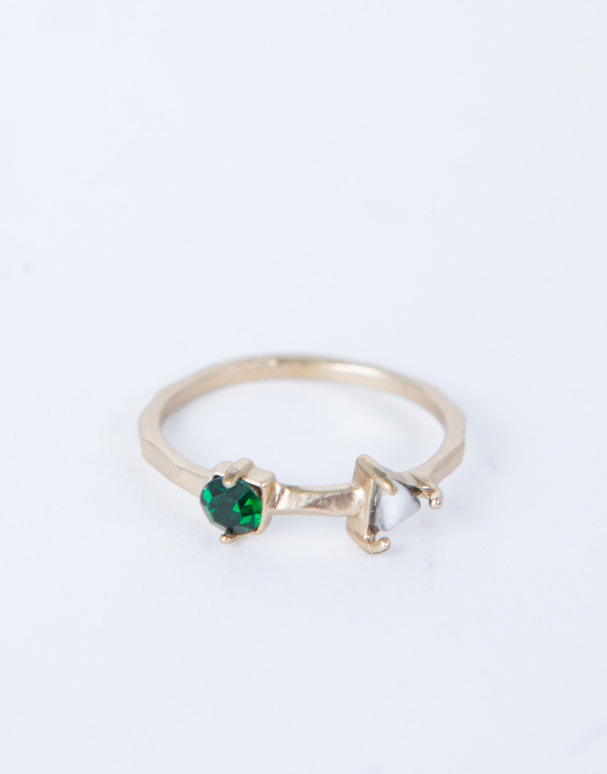 Mini Emerald Ring