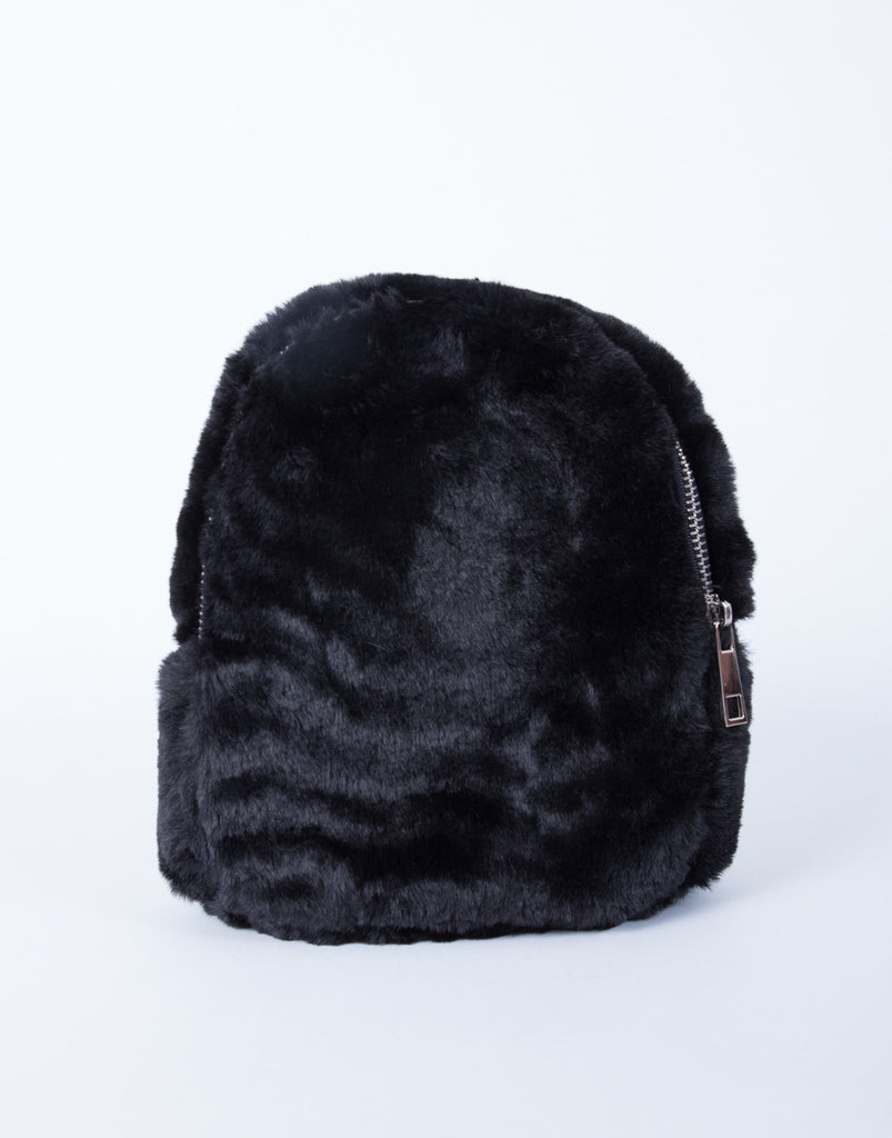 Mini Fur Backpack - 2020AVE