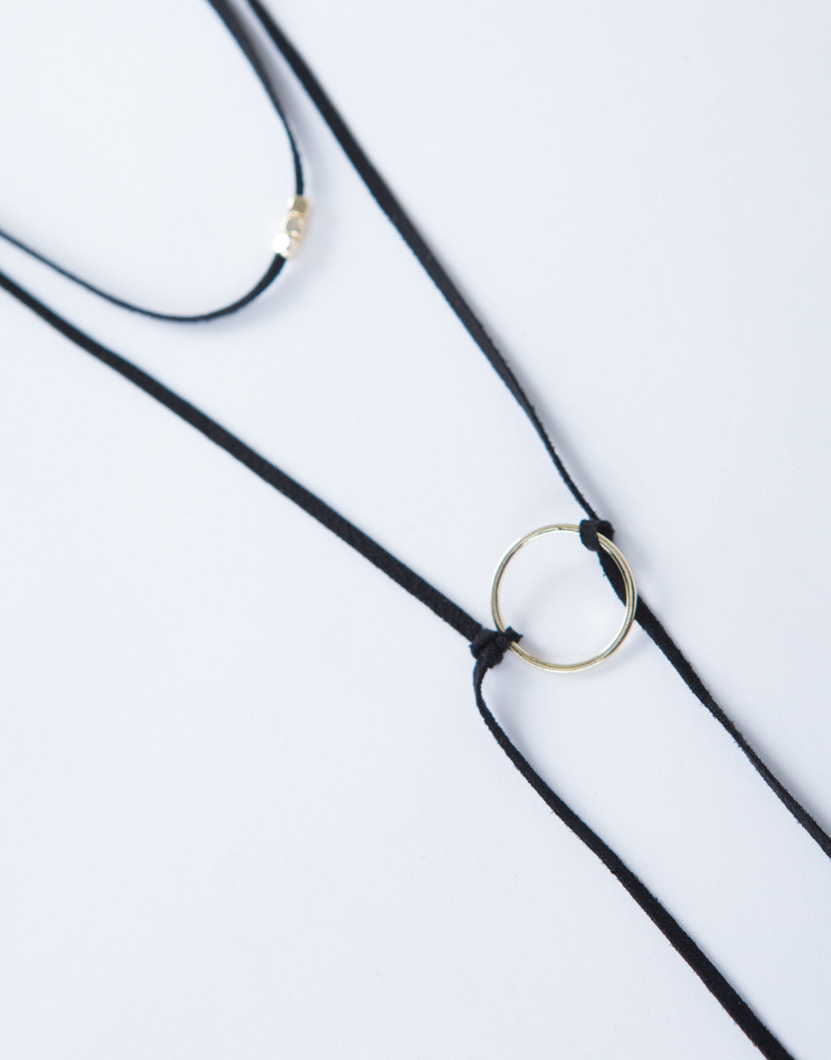 Mini Hoop Choker Necklace