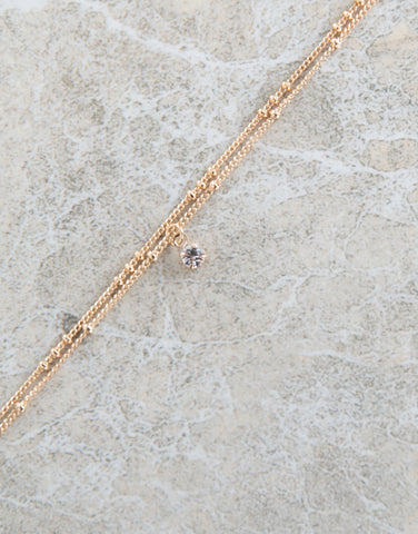 Mini Jeweled Anklet - 2020AVE