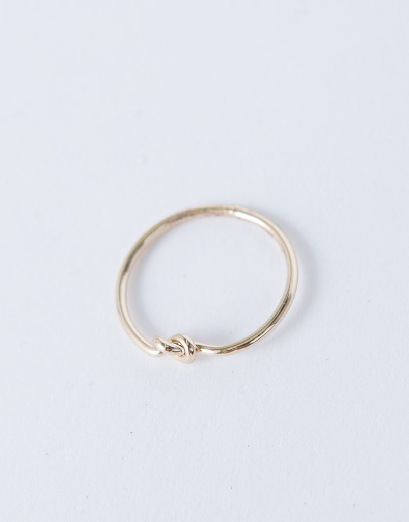 Mini Knotted Ring